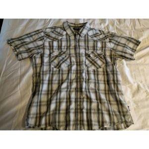 Patagonia Short Sleeve Button Up Shirt Sz L
